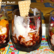 Fruit Icecream Pudding