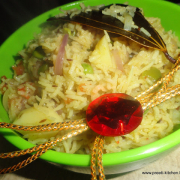 Vegetable Pulao/ Namkeen Rice