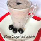 Grapes and Banana Smoothie| Smoothie Recipes