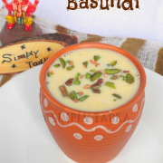 Basundi- Gujarati Sweet- SFC Jan'15