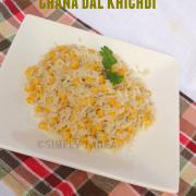 Chana Dal Khichdi- Punjabi Style