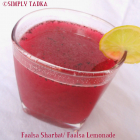 Faalsa Sharbat/ Faalsa Lemonade