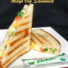 Grilled Mayo Veg Sandwich