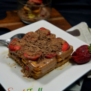 No Bake Biscuit Pudding | Quick Eggless Biscuit Strawberry Delight