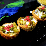 Baked Bread Katori Chaat