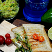 Guacamole Cheese Sandwich