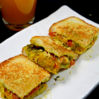 Aloo Masala Toast