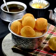 Whole Wheat Golgappas Recipe | Atta Ke Golgappe Recipe