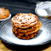 Eggless Funnel Cake Recipe