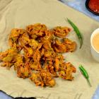 Crunchy Onion Pakoras (Onion Bhajji) Recipe