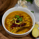 Garlic Moong Dal | Lasuni or Lasooni Moong Dal Tadka Recipe