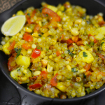 Easy Sabudana Khichdi (With Tomatoes)