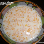 Orange Kheer Recipe